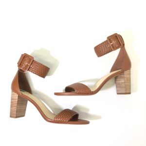 Vince Camuto braided strappy sandals Size 8